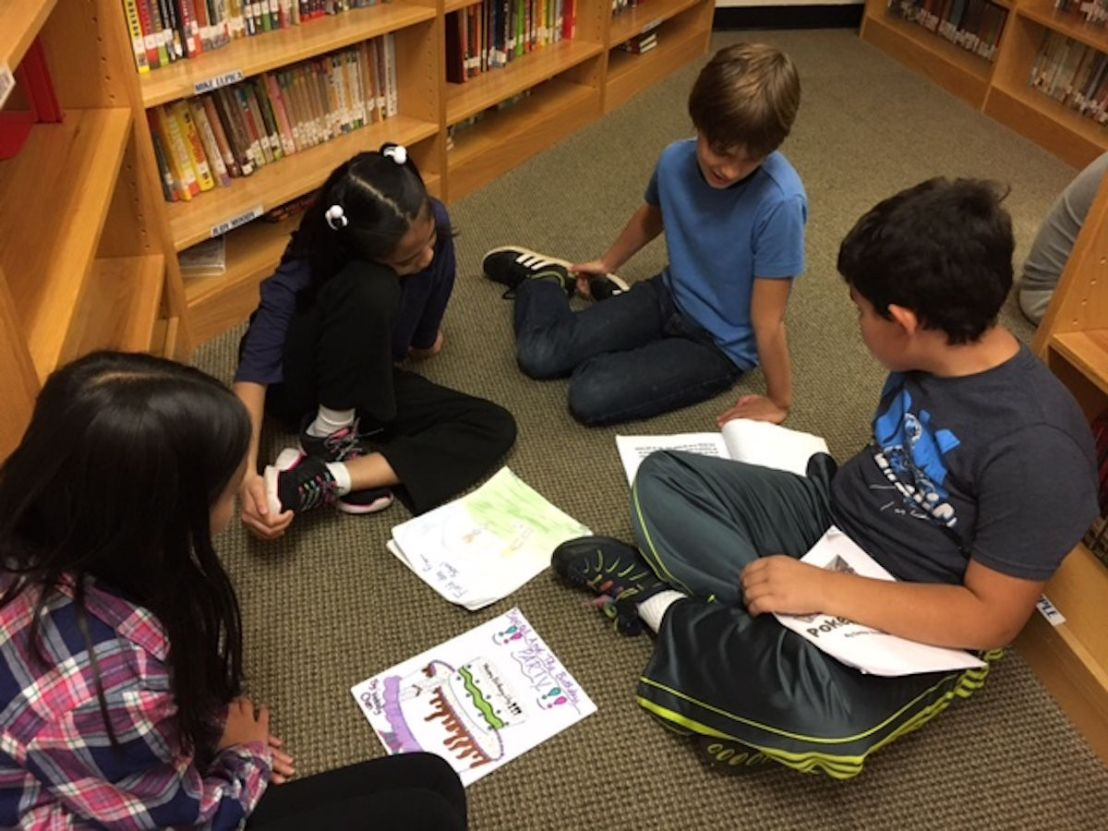 Fourth Graders Celebrate the Art ofWriting