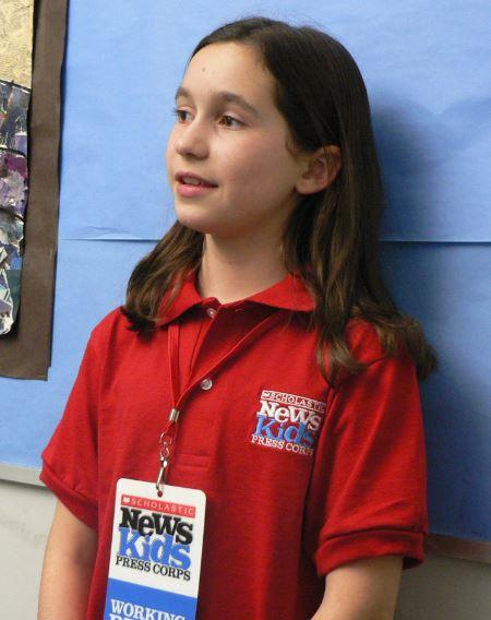 The Scholastic News Kids Press Corps Welcomes NewAddition