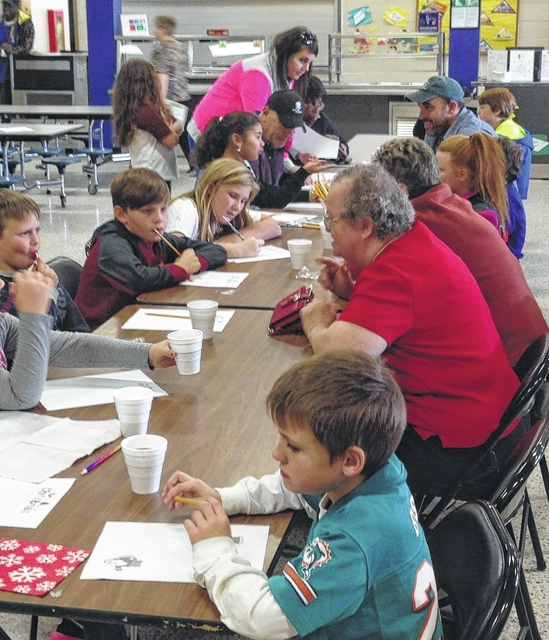 Family Writing Day and Celebration at Monarch ElementarySchool