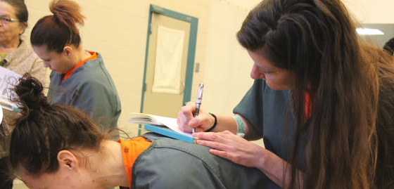 Writing Program Helps Female Inmates
