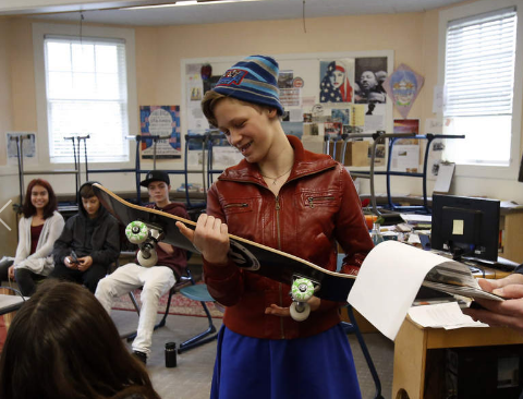 Writing and Skateboarding with Eugene Middle School Students