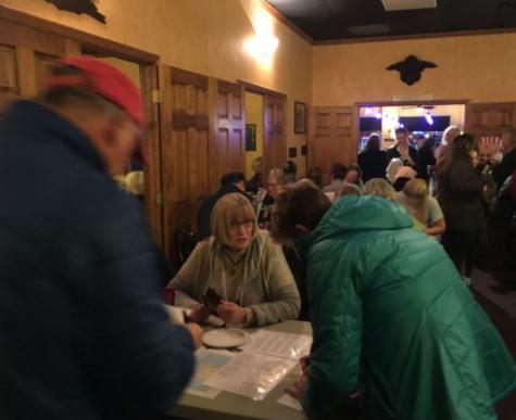 Women Host Postcard-Writing Party
